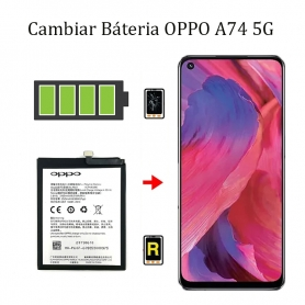 Cambiar Batería Oppo A74 5G