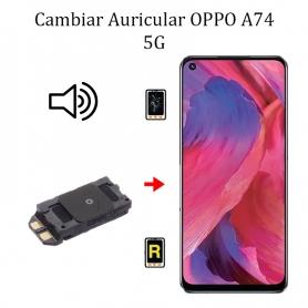 Cambiar Auricular De Llamada Oppo A74 5G