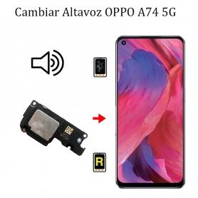Cambiar Altavoz De Música Oppo A74 5G