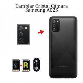 Cambiar Cristal Cámara Trasera Samsung Galaxy A02S