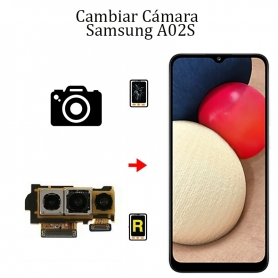 Cambiar Cámara Trasera Samsung Galaxy A02S