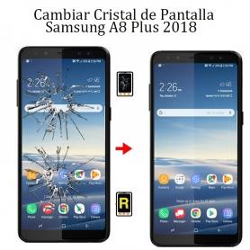 Cambiar Cristal De Pantalla Samsung Galaxy A8 Plus 2018