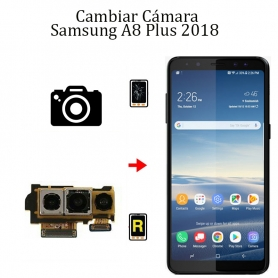 Cambiar Cámara Trasera Samsung Galaxy A8 Plus 2018
