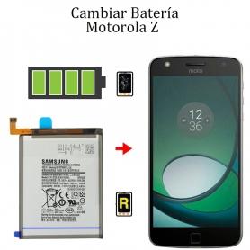 Cambiar Batería Motorola Z