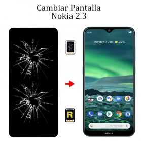 Cambiar Pantalla Nokia 2,3