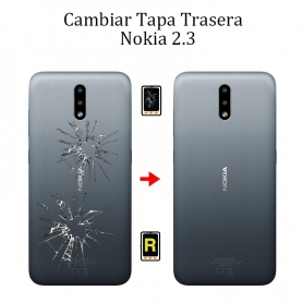 Cambiar Tapa Trasera Nokia 2,3