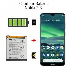 Cambiar Batería Nokia 2,3