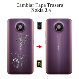 Cambiar Tapa Trasera Nokia 3,4