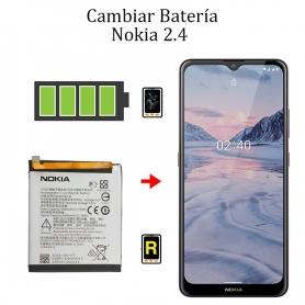 Cambiar Batería Nokia 2,4