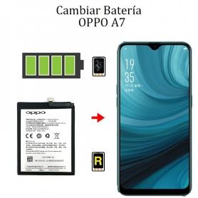 Cambiar Batería OPPO A7