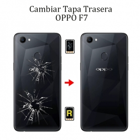 Cambiar Tapa Trasera OPPO F7
