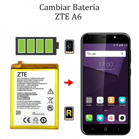 Cambiar Batería ZTE A6
