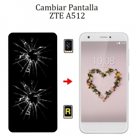Cambiar Pantalla ZTE A512