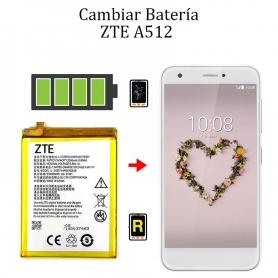 Cambiar Batería ZTE A512