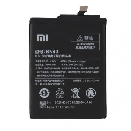 Cambiar Bateria Xiaomi Redmi 4 Pro