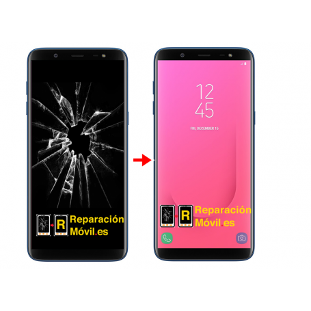 Cambiar Pantalla Samsung J8 2018 J810 original