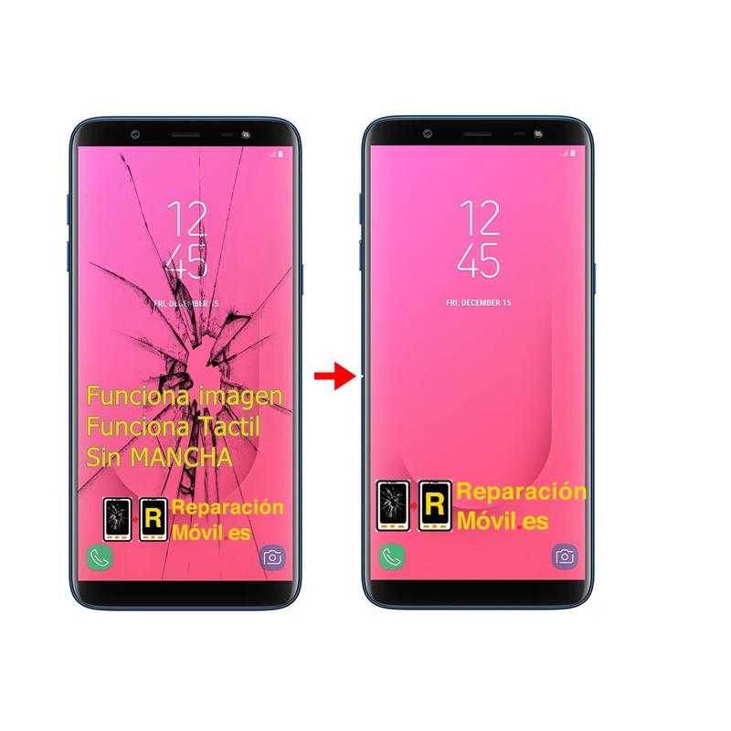 Cambiar Cristal Samsung j8 (2018) J810