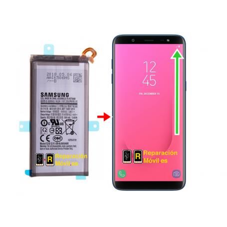Cambiar Batería Samsung J8 (2018)
