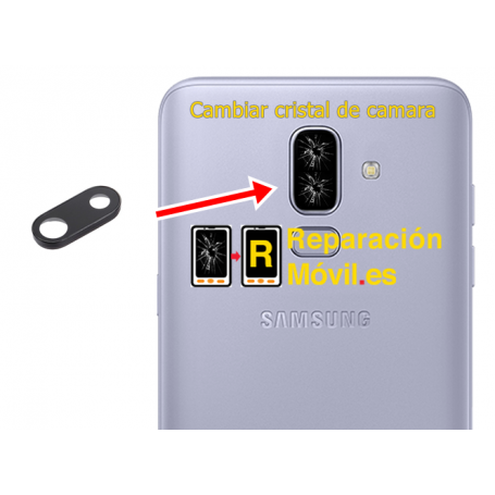 Cambiar Cristal de Camara Samsung J8 (2018)