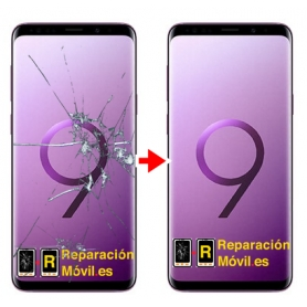 Cambiar Cristal y chassis Samsung S9 Plus