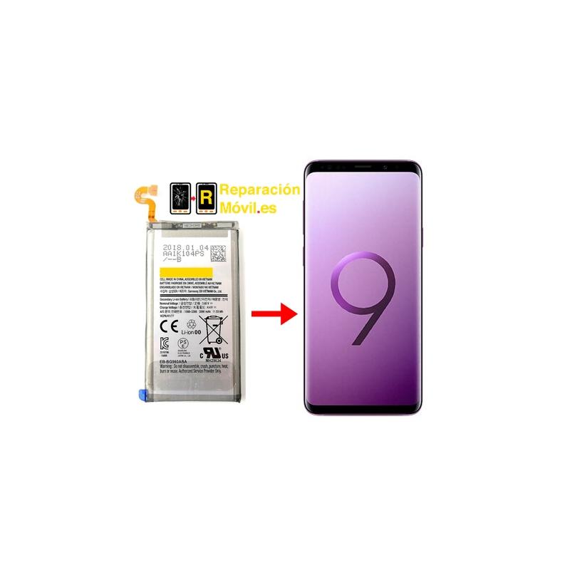 Cambiar batería Samsung S9 Plus