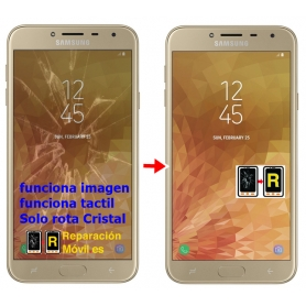 Cambiar Cristal de Pantalla Samsung J4 2018 (J400F)