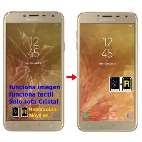 Cambiar Cristal de Pantalla Samsung J4 plus (2018) SM-J415F