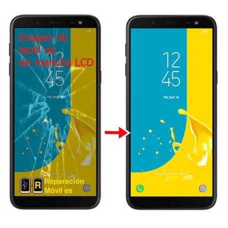 Cambiar Cristal Samsung J6 2018 (J600F)