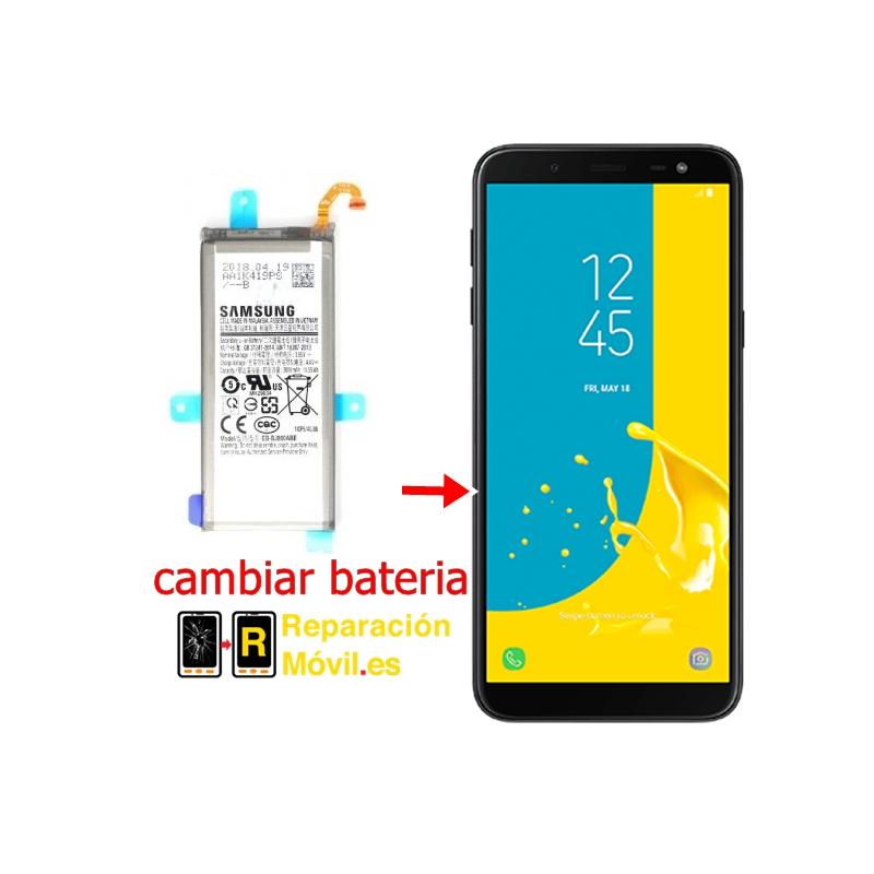 Cambiar Batería Samsung J6 2018 (J600F)