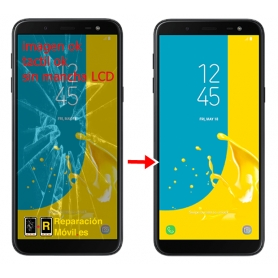 Cambiar Cristal Samsung Galaxy J6 Plus 2018