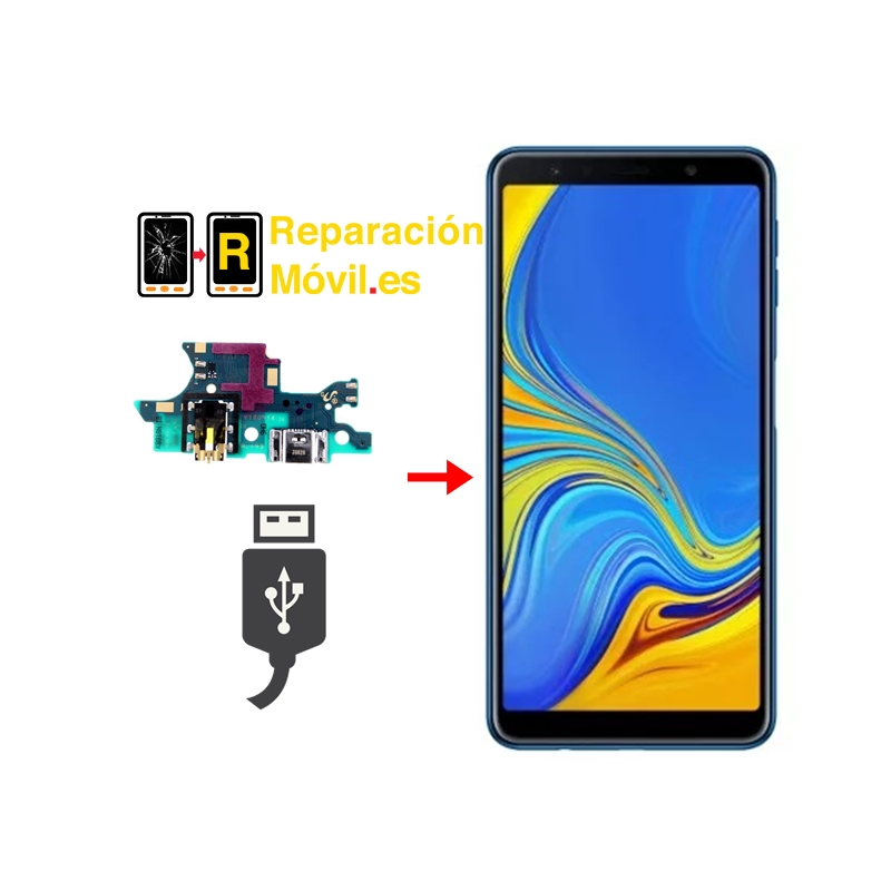 Cambiar Conector de Carga Samsung A7 2018 (A750FN)