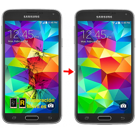 Cambiar Cristal Samsung S5