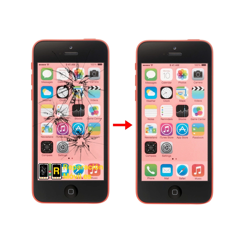 Cambiar Pantalla iPhone 5C