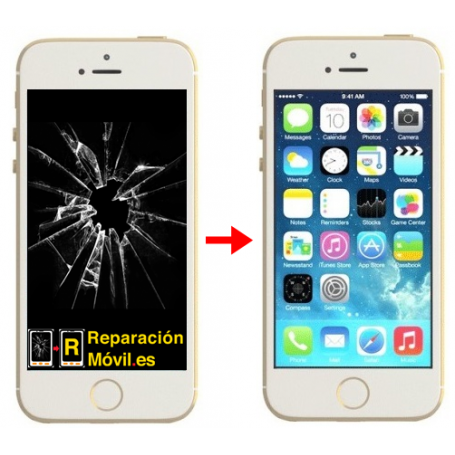 Cambiar Pantalla iPhone 5S Original