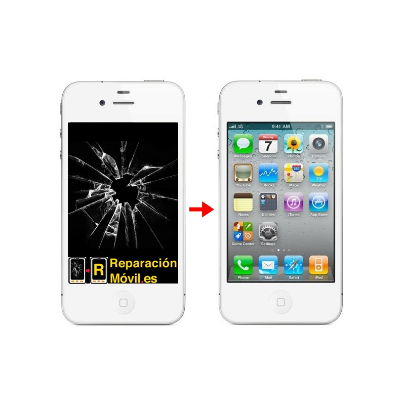 Cambiar Pantalla iPhone 4s