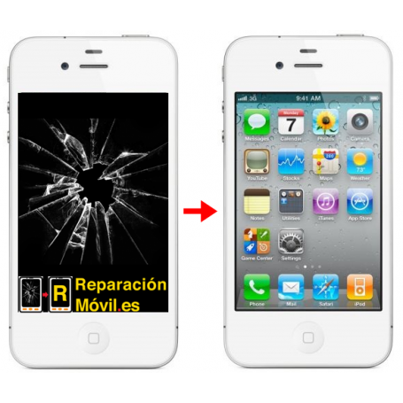 Cambiar Pantalla iPhone 4