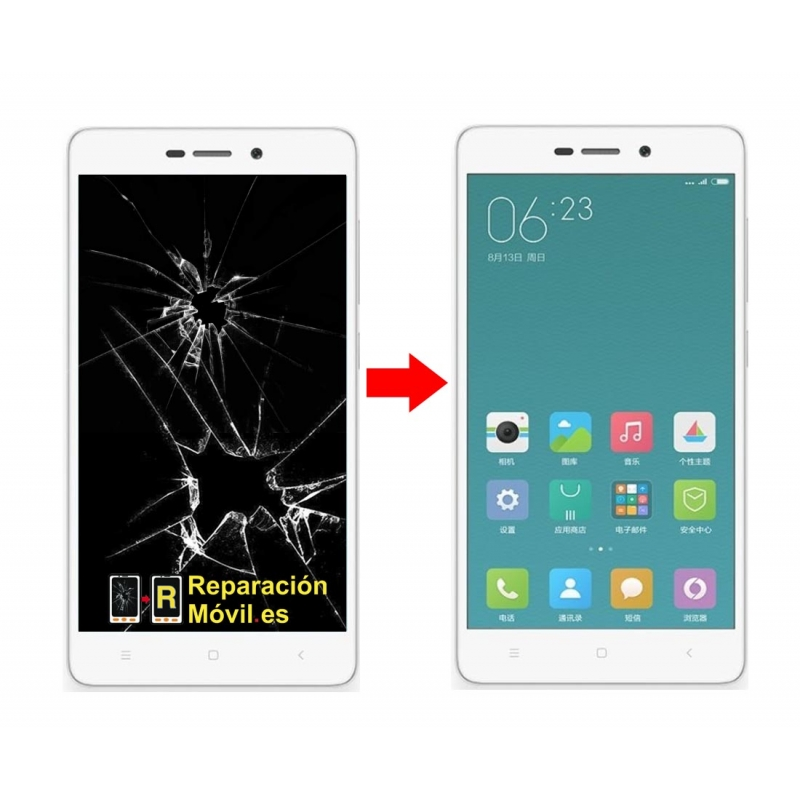 Cambiar Pantalla Xiaomi Redmi 3