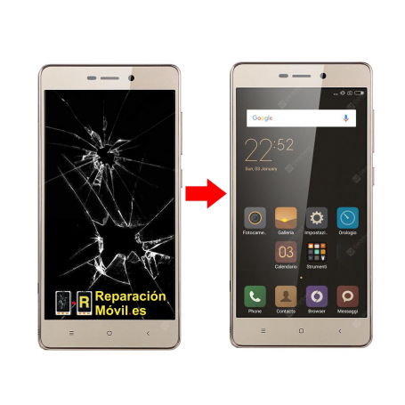 Cambiar Pantalla Xiaomi Redmi 3S