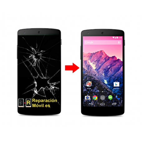 Cambiar Pantalla LG Nexus 5