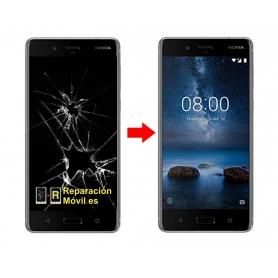 Cambiar Pantalla Nokia 8