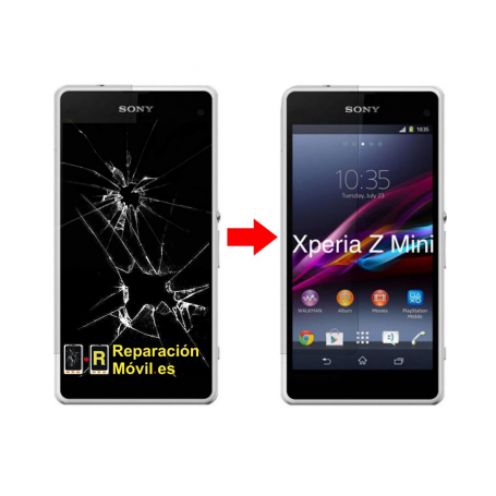 Cambiar Pantalla Sony Xperia Z1 Mini