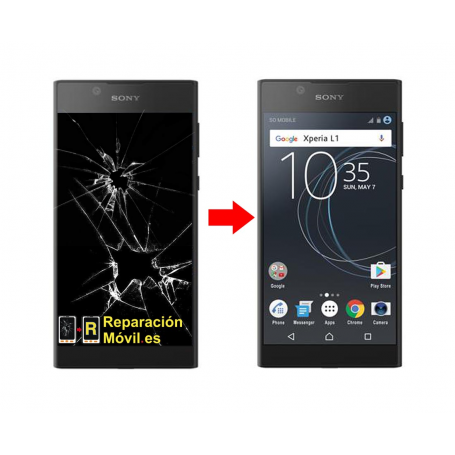 Cambiar Pantalla Sony Xperia L1