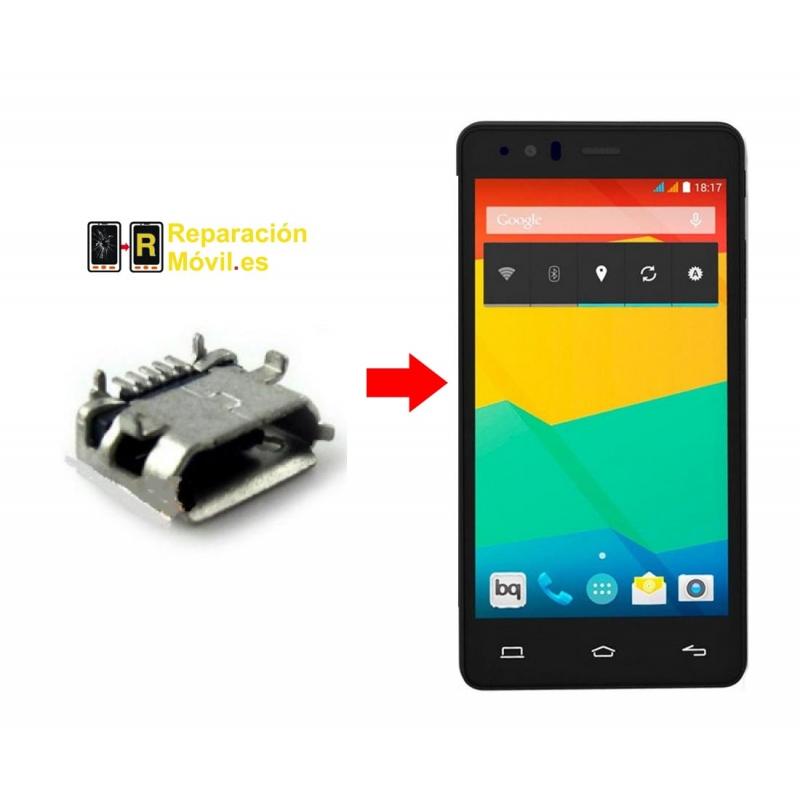 Cambiar Conector de Carga BQ E5 FHD