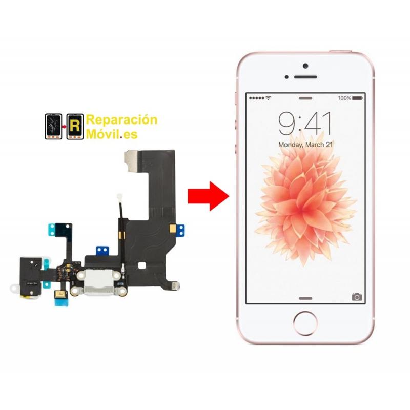 Cambiar Conector de Carga iPhone 5 SE