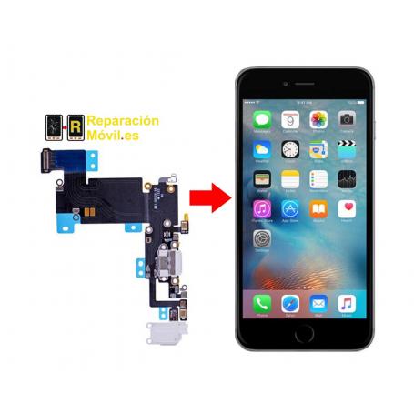 Cambiar Conector de Carga iPhone 6 Plus