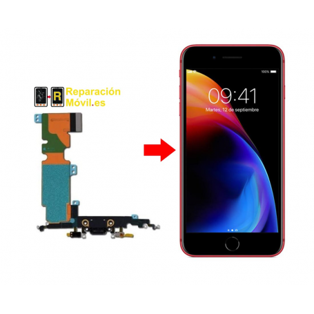 Cambiar Conector de Carga iPhone 8 Plus
