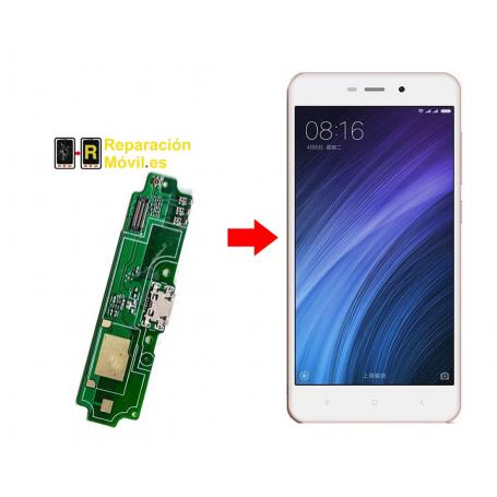 Cambiar Conector de carga Xiaomi Redmi 4a