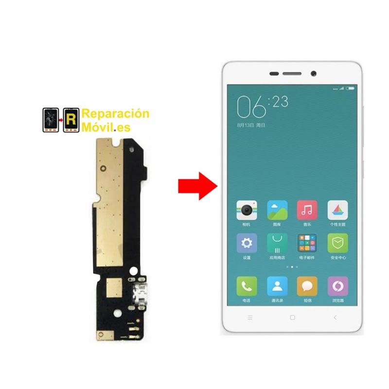 Cambiar Conector de carga Xiaomi Redmi 3