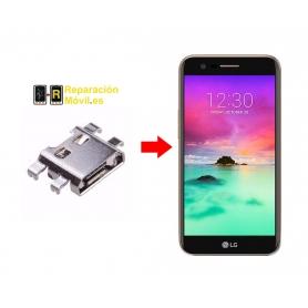 Cambiar Conector De Carga LG K10 2017