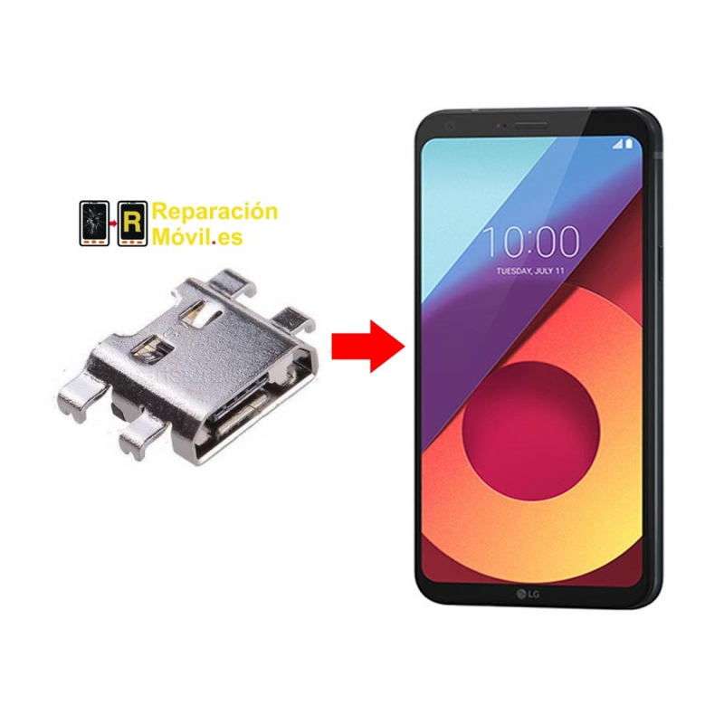 Cambiar Conector De Carga LG Q6